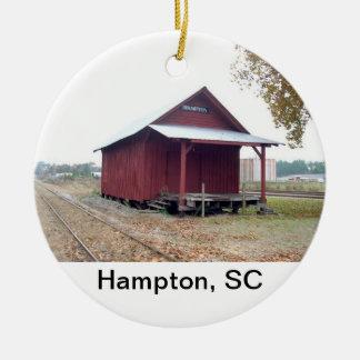 Hampton Depot Christmas Ornament
