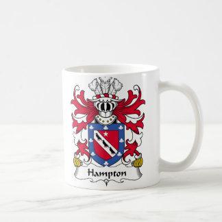 Hampton Family Crest Coffee Mug