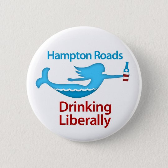 Hampton Roads Drinking Liberally Round Buttons