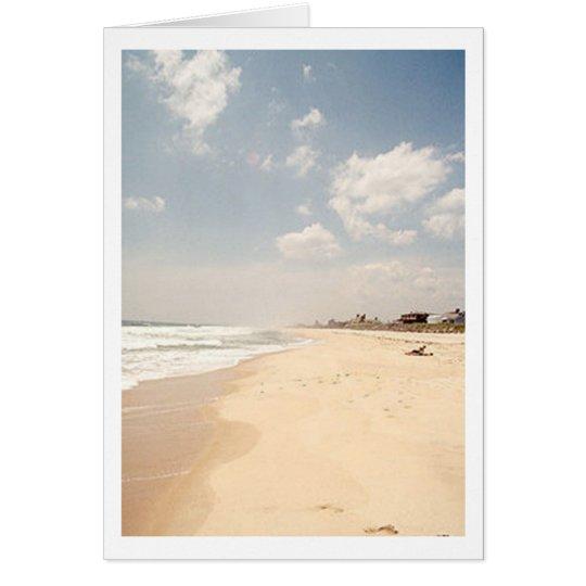 Hamptons Beach NOTE CARD