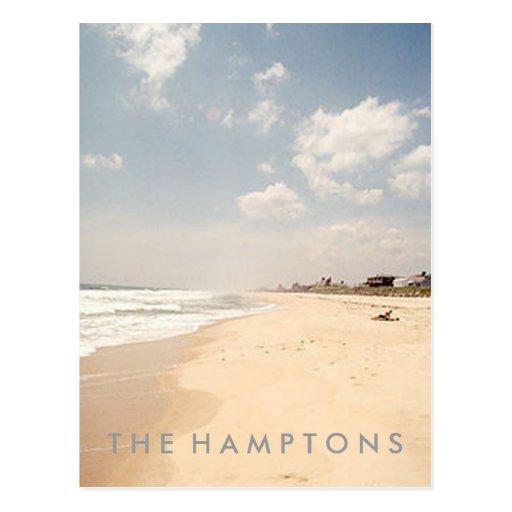 Hamptons Beach POSTCARD