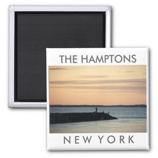 Hamptons Sunset magnet