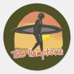 Hamptons Surf Sticker