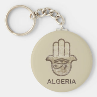 Hamsa Algeria Key Ring
