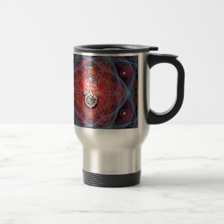 Hamsa - CHAI - Sacred Geometry Travel Mug