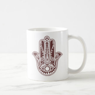 hamsa hand. coffee mug