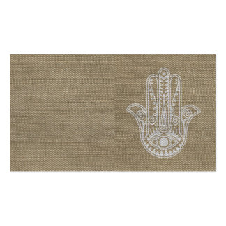 HAMSA Hand of Fatima symbol amulet Double-Sided Standard Business Cards (Pack Of 100)