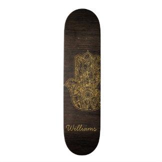 HAMSA Hand of Fatima symbol amulet design Skateboard Decks