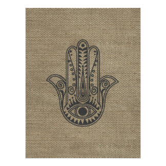 HAMSA Hand of Fatima symbol amulet Posters
