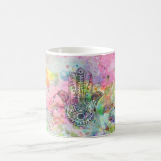 HAMSA Hand of Fatima symbol Coffee Mug