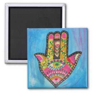 Hamsa Hand painting Refrigerator Magnet