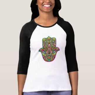 Hamsa Hand Psychedelic Art T-Shirt
