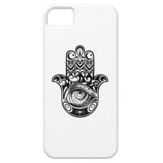 Hamsa Hand Zendoodle iPhone 5 Cases