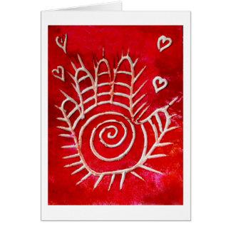 Hamsa / Healing Hand / Hand of Fatima Greeting Card
