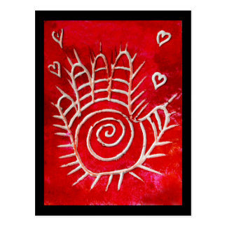 Hamsa / Healing Hand / Hand of Fatima Postcard