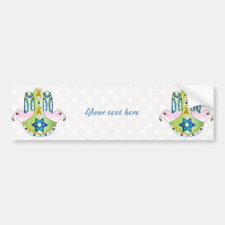 Hamsa judaica bumper stickers