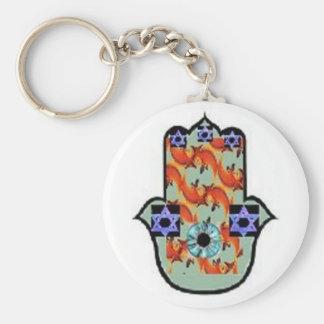 Hamsa keychain