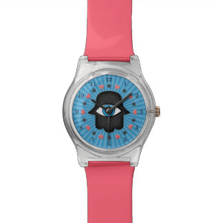 hamsa khamsa Eye in hand of the goddess Watch