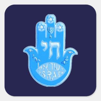 Hamsa Square Sticker