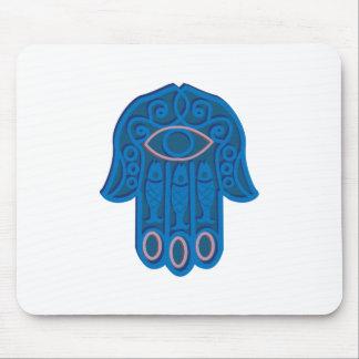 Hamsa Symbol Mouse Pad