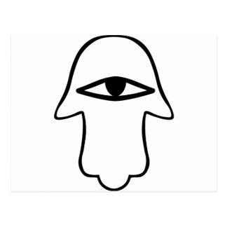 Hamsa Symbol Postcard