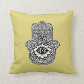 Hamsa Throw Pillow