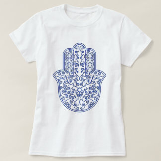 hamsa*tunis*morocco*henna*blue T-Shirt