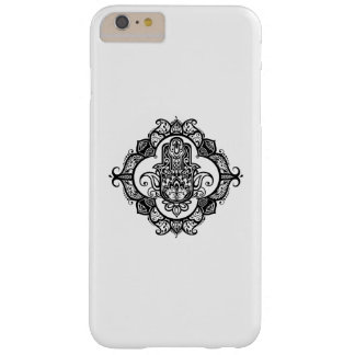 Hamsa With Ethnic Ornaments Doodle Barely There iPhone 6 Plus Case