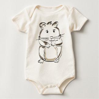 hamster-1530675 baby bodysuit