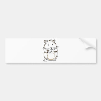 hamster-1530675 bumper sticker