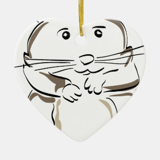 hamster-1530675 christmas ornament