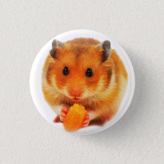Hamster 3 Cm Round Badge