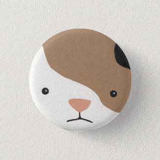 hamster 5 3 cm round badge