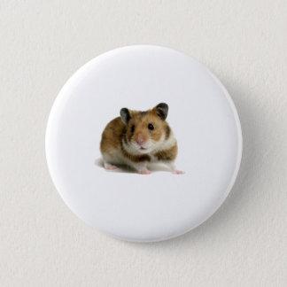 Hamster 6 Cm Round Badge