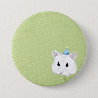 hamster 7.5 cm round badge