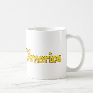 Hamster Across America Coffee Mug