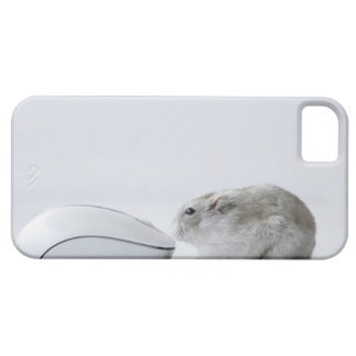 Hamster and Computer mouse iPhone 5 Case