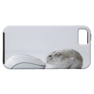 Hamster and Computer mouse iPhone 5 Covers