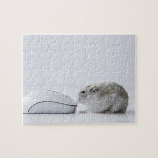 Hamster and Computer mouse Jigsaw Puzzle