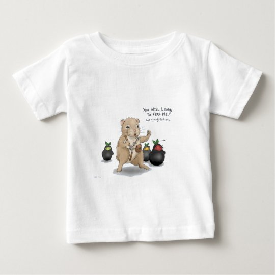 Hamster and Ninja Fruit Baby T-Shirt