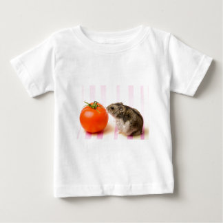 Hamster and tomato baby T-Shirt