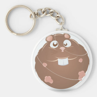 hamster ball keychain