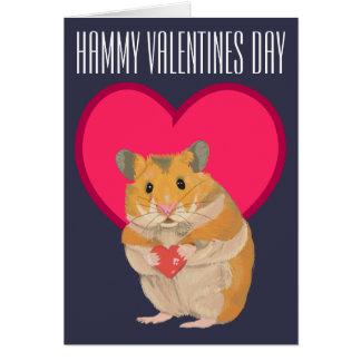 Hamster Card - Hammy Valentines editable card