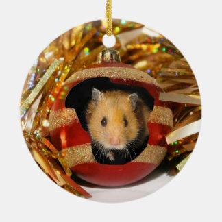 Hamster Christmas Christmas Ornament