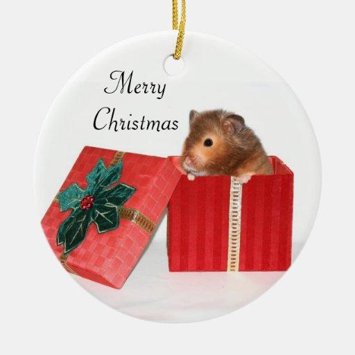 Hamster Christmas gift Christmas Ornaments