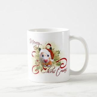 Hamster Christmas Mugs