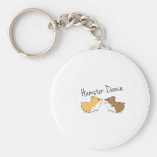 Hamster Dance Keychains