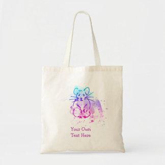 Hamster Design - Colorful Line Art - Custom Words