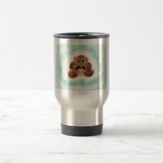 Hamster Eating a Burrito Travel Mug