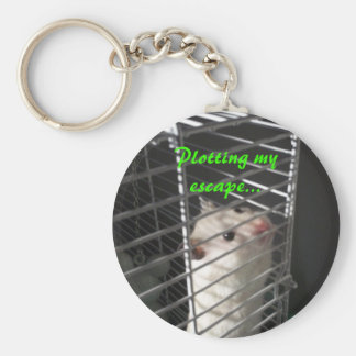 Hamster Escape Keychain